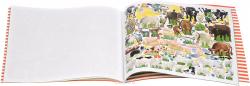 Creative Studio Альбом с наклейками Создай Веселую ферму