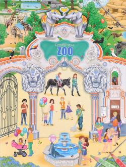 Creative Studio Альбом с наклейками Создай Зоопарк