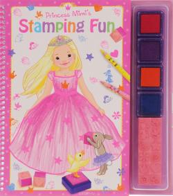 Princess Mimi Альбом для раскрашивания со штампами