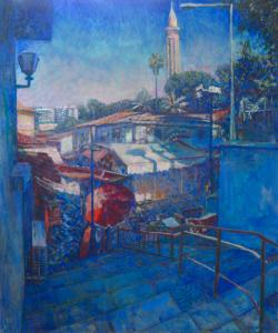 Картина на холсте «Последний зимний сон» Суслов П., масло, 107х90