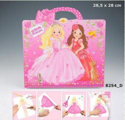 Princess Mimi Альбом для раскрашивания Платья принцессы