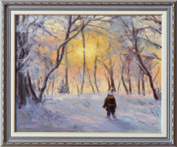 Картина на холсте «Навстречу сказке» Самойлович А., масло, 40х50