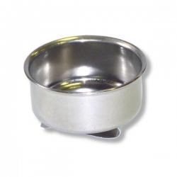 Масленка одинарная, диаметр 4,5 см, высота 1,7 см, металлическая