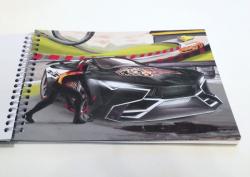 Monster Cars Создай Альбом для раскрашивания Крутой автомобиль МИНИ