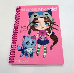 TOPModel Manga Альбом для раскрашивания МИНИ