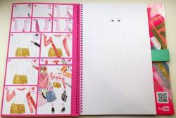 TOPModel Flamingo Альбом для раскрашивания Фламинго Flamingo