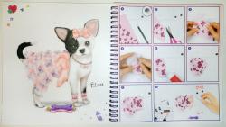 TOPModel Создай наряд для своей Собачки Doggy - раскраска с наклейками