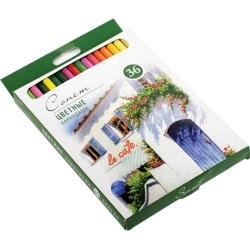 Сонет Набор профессиональных цветных карандашей, 36 цветов