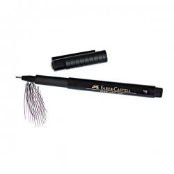 "Faber-Castell Ручка-кисточка профессиональная капиллярная ""PITT Pen"",черная"