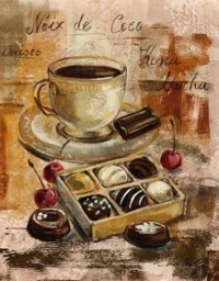 "Сонет Папертоль ""Чашка кофе"", 9х12 см"