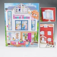 Creative Studio Альбом с наклейкам Создай Милый дом