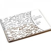"""Сонет Альбом для рисования  на пружине, формат 19х26 см, бумага """"Серая"""" марка Б, плотность 80 г/м2, 50листов"""