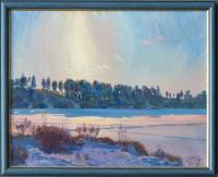 Максютин И. «Мороз и солнце». Холст, масло, 40х50