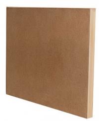 Холст грунтованный на подрамнике, ЛЕН 100%, крупное зерно, акриловый грунт 70*100