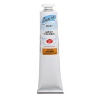 Краска Белила титановые масло Ладога 120мл