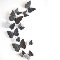 """Декоративные наклейки """"Бумажные бабочки"""""""