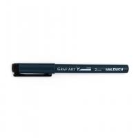Капиллярная ручка Малевичъ Graf'Art, скошенная, 2,0 мм