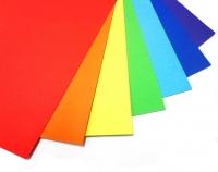 FOLIA  Бумага цветная, 300 г/м2, 50х70 см, 10 л, серебро